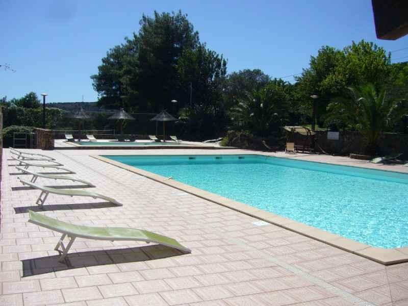 Camping les vals for Restaurant piscine